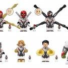 Marvel Avengers Minifigures Hulk Antman Venom Spiderman Doctor Stranger Lego Fit