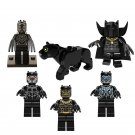 Marvel Black Panther Erik Killmonger Minifigures Compatible Lego Superhero