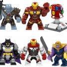 Custom Korg Ironman Thanos Hulk Batman Big Figure Lego Compatible Superhero