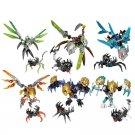 Bionicle Uxar Ketar Akida Ikir Terak Melum Figures Compatible Lego