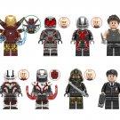 Marvel Superhero Minifigures MK85 War Machine Antman Hogan Hawkeye Lego Fit