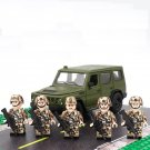 American British United Desert Assault Soldiers Compatible Lego