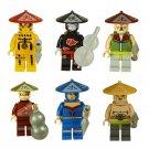 Custom Ninjago Rush Game Minifigures Compatible Lego