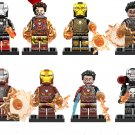 Marvel Ironman War Machine MK22 MK85 MK41 Minifigures Compatible Lego