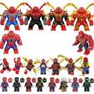Marvel Universe Spiderman Minifigures Figure Compatible Lego