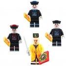 4pcs Chinese Vampire Minifigures Compatible Lego Vampire minifigure