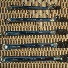 Craftsman Professional Full Polish Deep Offset Box End 5 Metric MM Wrench Set