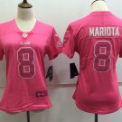 Women's Titans Marcus Mariota 8th Football Player Jersey Limited Pink Women's Top