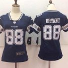 Dez Bryant #88 Women's Cowboys Football Player Jersey Navy Blue