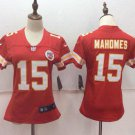 Women's Kansas City Chiefs Patrick Mahomes Red Football Player Jersey