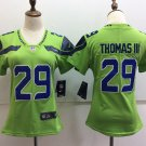 Earl Thomas III Women's Seattle Seahawks Football Player Jersey Green