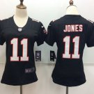 Women's Atlanta Falcons Julio Jones #11 Black Football Jersey