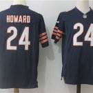 Men's Bears Howard 24th Football Player Game Jersey Black