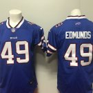Buffalo Bills 49 Tremaine Edmunds Men's Limited Player Jersey Blue
