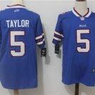 Men's Buffalo Bills 5 Taylor Player Jersey Limited Mens Football Shirt