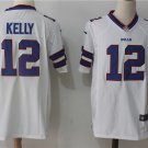 Buffalo Bills 12 Kelly Men's Limited Player Game Jersey Football Top