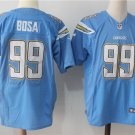 Men's Blue Los Angeles Chargers BOSA 99 Football Elite Jersey