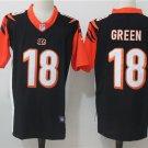 Men's Cincinnati Bengals #18 Green Limited Football Player Jersey