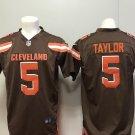 Cleveland Browns 5 Tyrod Taylor Men's Limited Game Jersey Brown