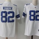 Men's Cowboys Jason Witten #82 White Limited Player Jersey
