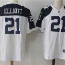 Dallas Cowboys #21 Elliott Men's Color Rush Limited Player Jersey