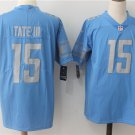 Men's Lions Golden Tate #15 Limited Football Player Jersey