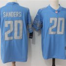 Men's Lions Barry Sanders #20 Limited Football Player Jersey