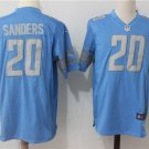 Barry Sanders 20th Men's Lions Limited Football Game Jersey