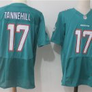 Men's Green Dolphins 17th Ryan Tannehill Elite Football Jersey Limited