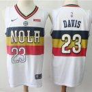 New Orleans Pelicans 23 Anthony Davis Earned Edition Swingman Jersey