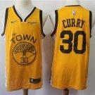 Golden State Warriors 30 Stephen Curry Men's Swingman Jersey Earned Edition