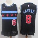 Men's Chicago Bulls Zach LaVine #8 City Edition Replica Jersey black