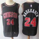 Chicago Bulls #24 Lauri Markkanen Men's Statement Edition Replica Jersey