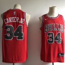 Men's Chicago Bulls 34 Carter JR Icon Edition Swingman Jersey