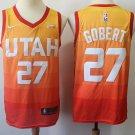 Men's Utah Jazz 27 Rudy Gobert Swingman jersey City Edition