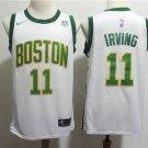 Men's Boston Celtics 11 Kyrie Irving City Edition Swingman Jersey
