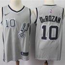 Men's Spurs DeMar DeRozan #10 Swingman Jersey Stitched