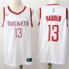 Houston Rockets 13 White Swingman Jersey James Harden