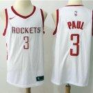Men's Houston Rockets #3 Chris Paul #3 White Basketball Jersey