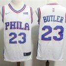 Philadelphia 76ers Butler #23  Men's Swingman Jersey White
