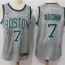 Boston Celtics 7 Jaylen Brown Men's Swingman Jersey
