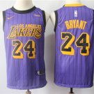 LA Lakers 24 Bryant Men's City Edition Swingman Jersey