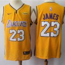 Men's Los Angeles Lakers 23 James Icon Basketball Jersey