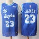 Men's Lakers #23 JAMES Replica Basketball jersey Blue