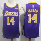 Men's Lakers #14 Brandon Ingram Swingman Jersey Statement