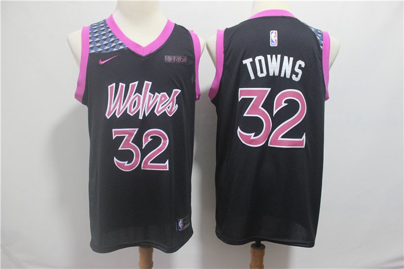 Anthony Towns #32 Minnesota Timberwolves Men's City Edition Swingman Jersey