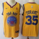 Golden State Warriors Kevin Durant #35 Men's Replica Swingman Jersey