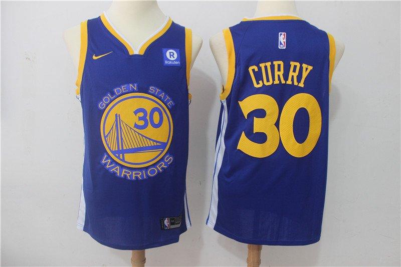 Men's Warriors Stephen Curry #30 Icon Swingman Jersey