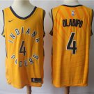 Men's Indiana Pacers #4 Victor Oladipo Swingman Jersey Statement