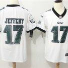 Philadelphia Eagles JEFFERY #17 Men's Football Player Jersey Limited